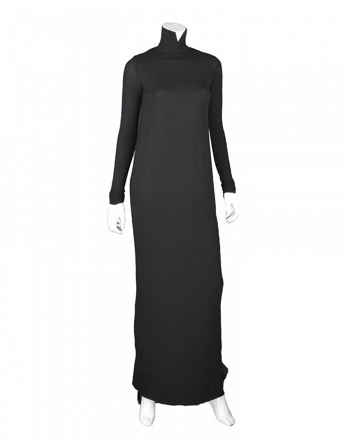DAVID'S ROAD MAXI TURTLE NECK DRESS