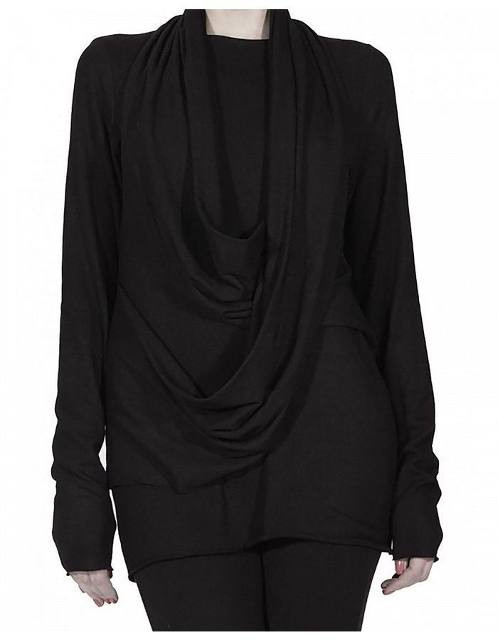 DAVID'S ROAD TOP WITH DRAPING FRONT- W