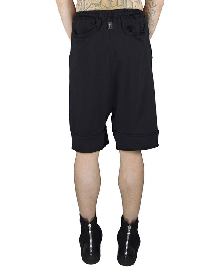 DAVID'S ROAD COTTON SHORTS WITH DRAWSTRING
