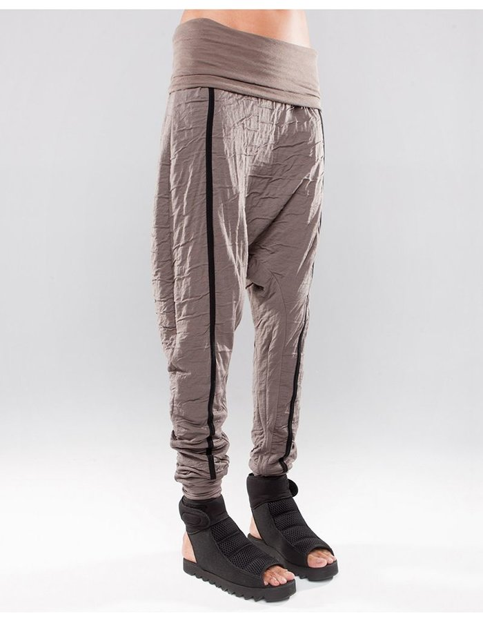 DEMOBAZA TROUSERS BAGGY RESIN EARTH