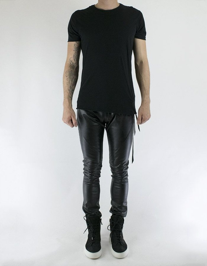 FAGASSENT VEGAN LEATHER SKINNY JEANS