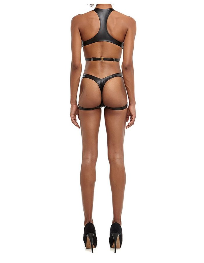 DSTM MAYA THONG VEGAN LEATHER