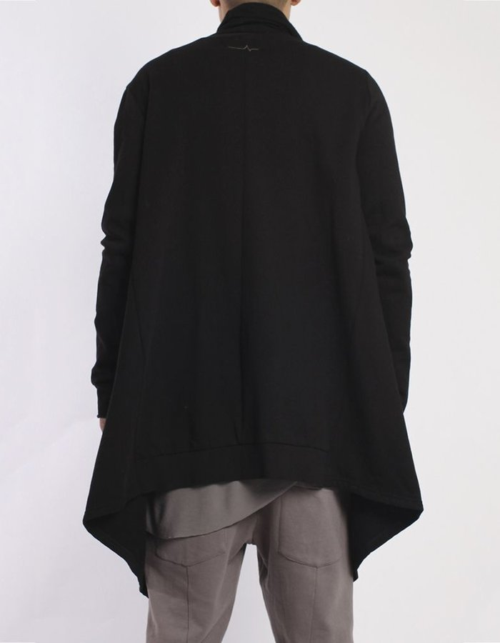 FIRST AID TO THE INJURED STERNUM CARDIGAN  :BLK