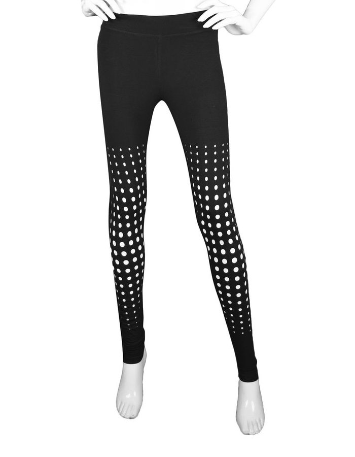 GELAREH DESIGNS MORA LEGGINGS  WITH CIRCLE  DESIGN
