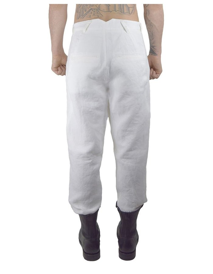 HANNIBAL HAKU TROUSER SS17 WHITE