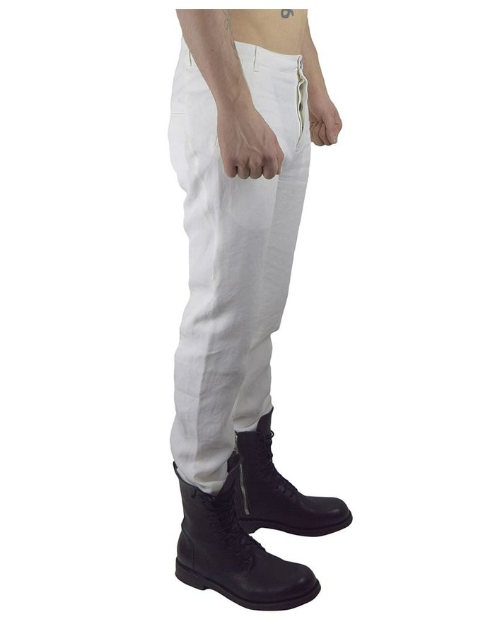 HANNIBAL HELMKE TROUSER SS17 WHITE
