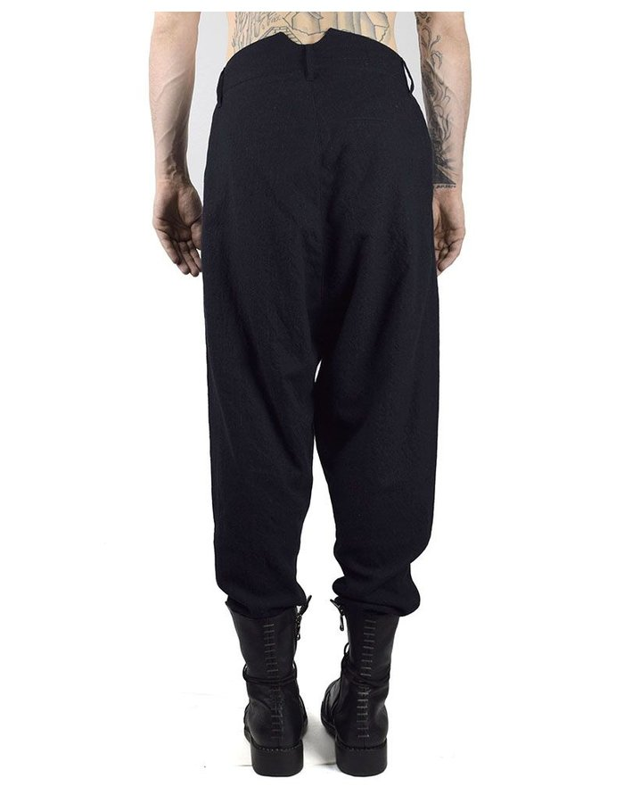 HANNIBAL TROUSERS HAIMO - MARINE STRIPED