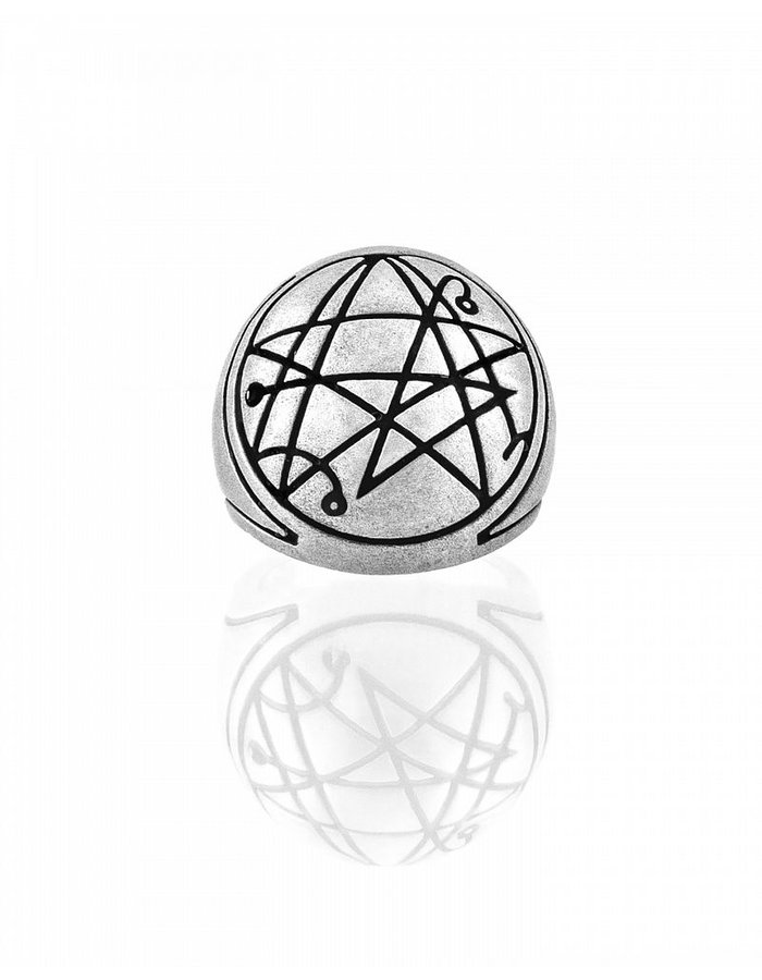 INTENEBRIS by JS CITHULHU SIGNET RING FROSTED