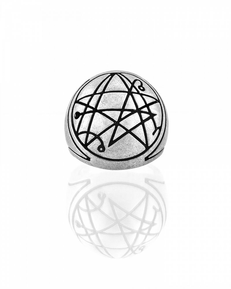 CITHULHU SIGNET RING FROSTED