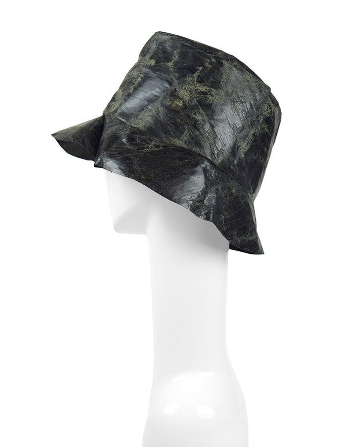 KLOSHAR HATS WRONG MILES  LEATHER HAT