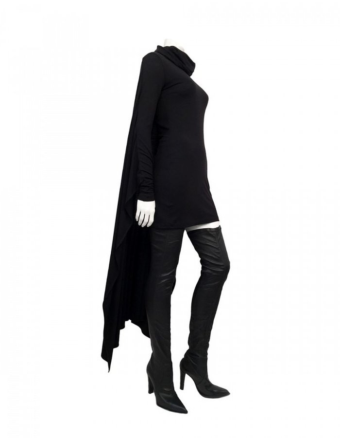 PLEIN SUD SHORT DRESS WITH CAPE