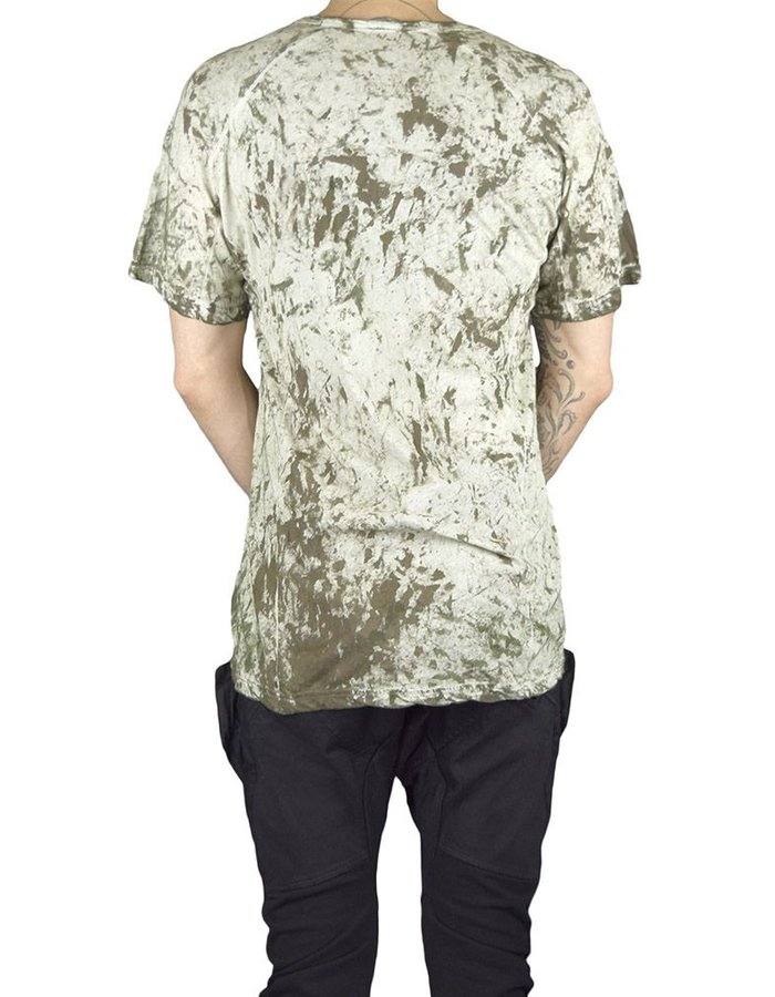 HAMCUS HAMCUS FITTED TEE:MOSS