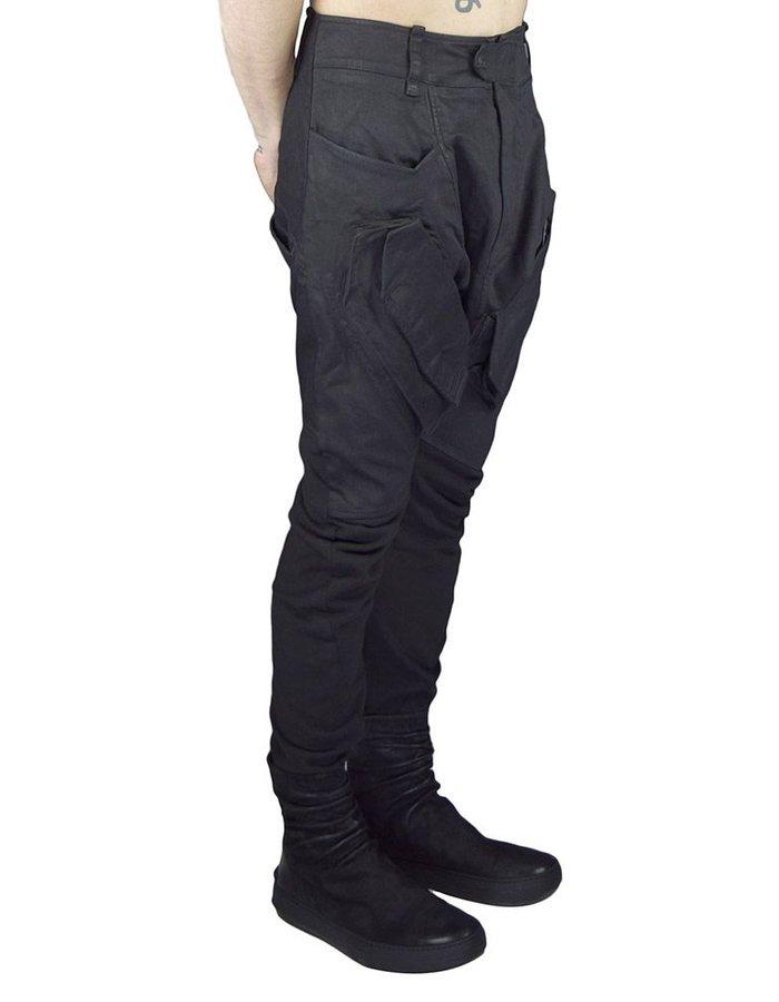 HAMCUS CURVED LEG CARGO PANT