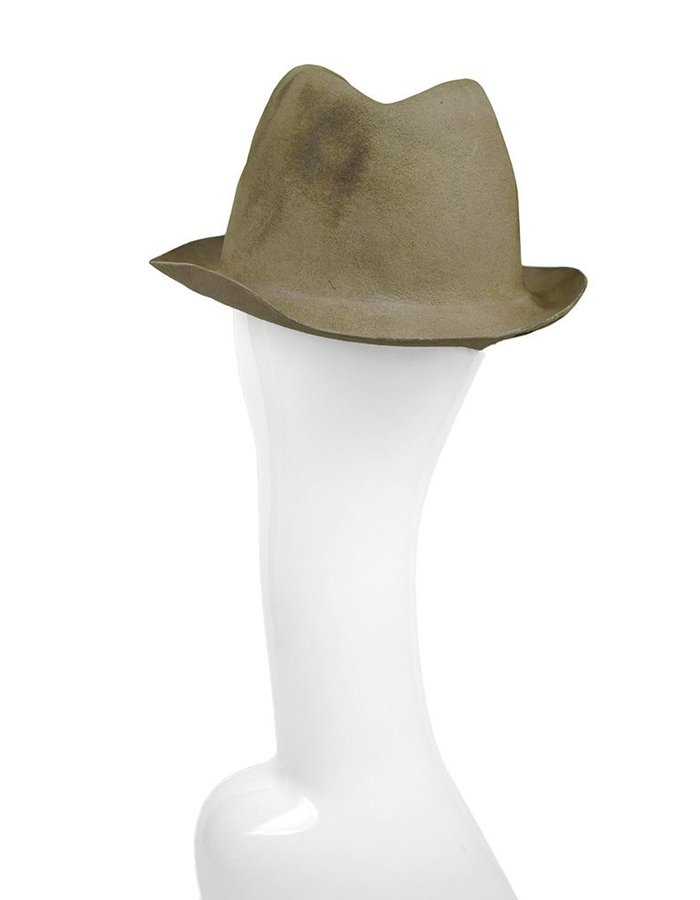 REINHARD PLANK BONA LAPIN HAT BURNED