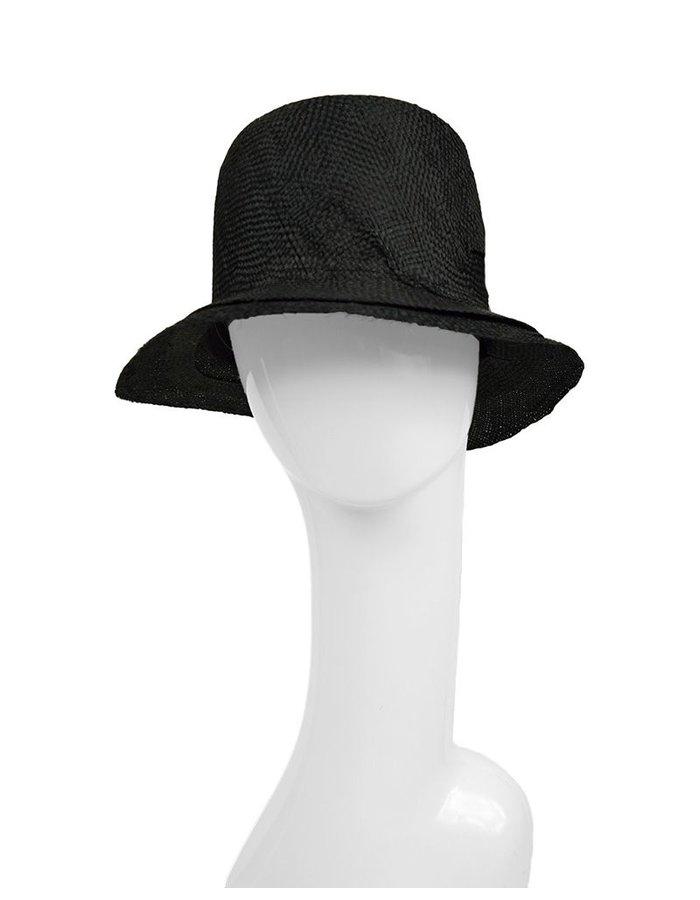 REINHARD PLANK HOMBRE STRAW HAT :BLK