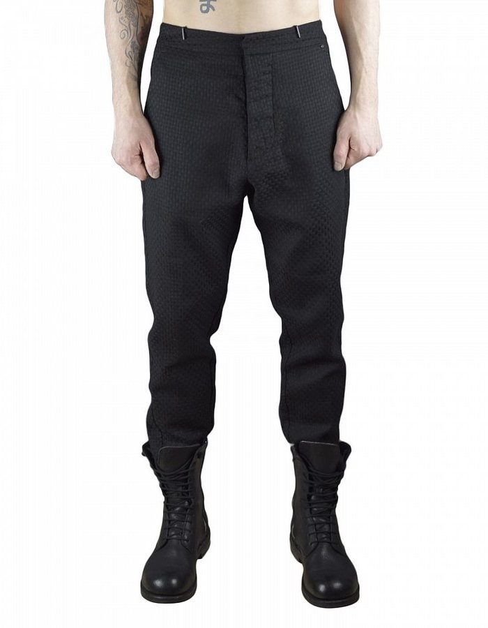 TOM REBL WINDOW PANE PANTS