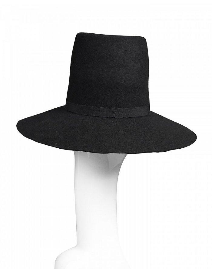 LEON LOUIS LARGE WOOL HAT