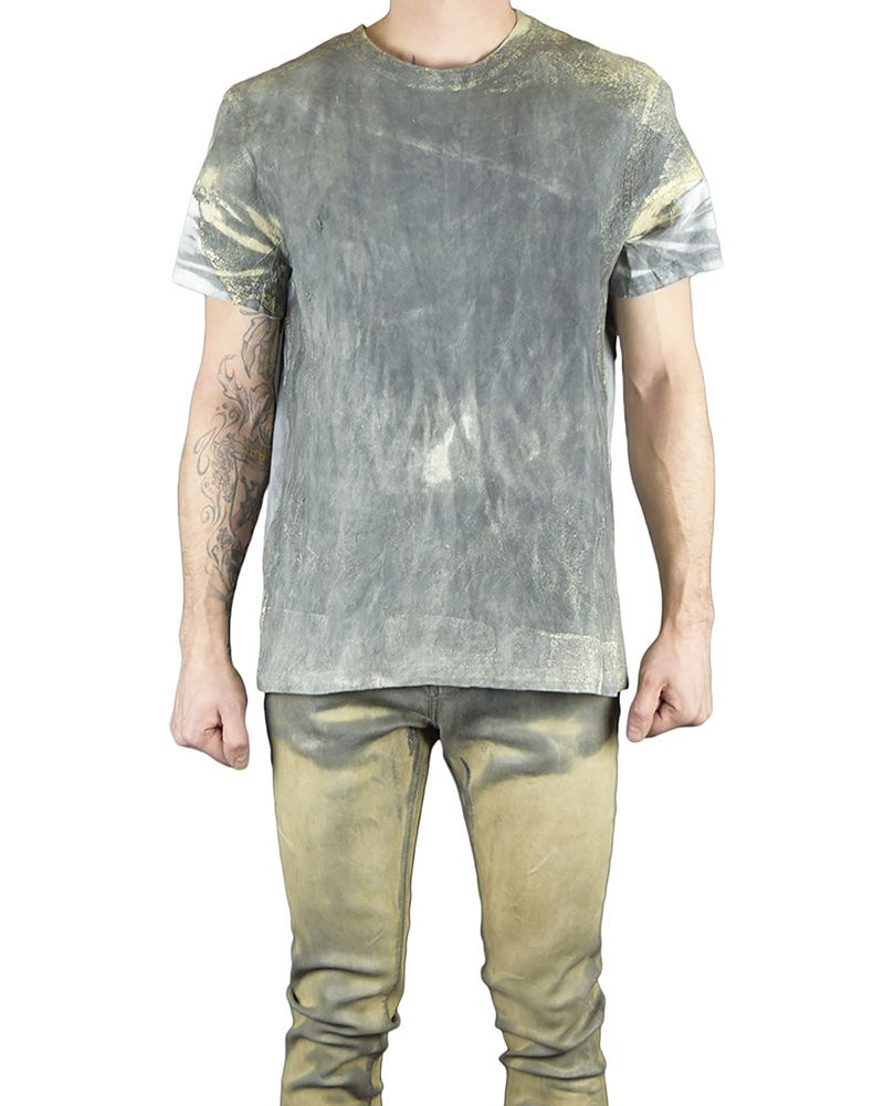 Mens Thermo Sensitive Leather T Shirt By M Ojo Risin Shopuntitled