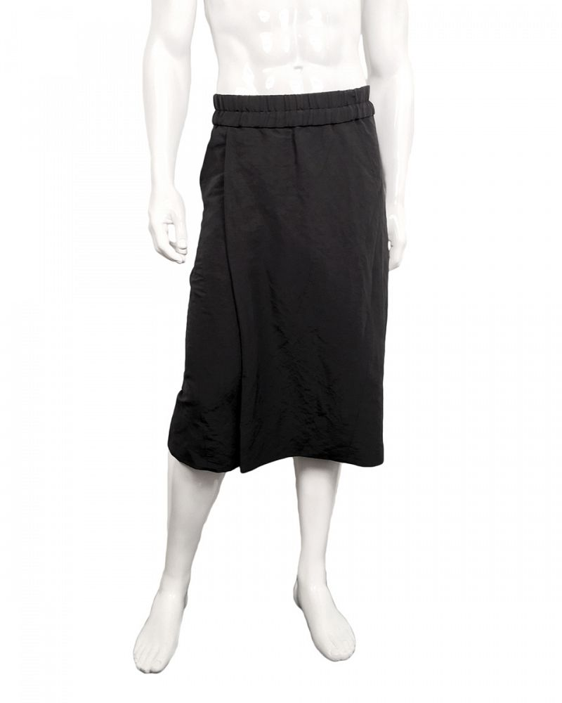 UNISEX WRAP SHORTS LINEN NYLON