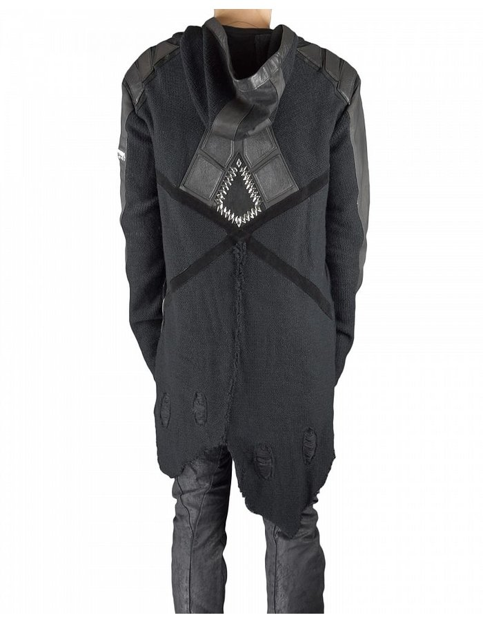 KD 2024 JACKET BUGGET KNIT AND STERLING SILVER