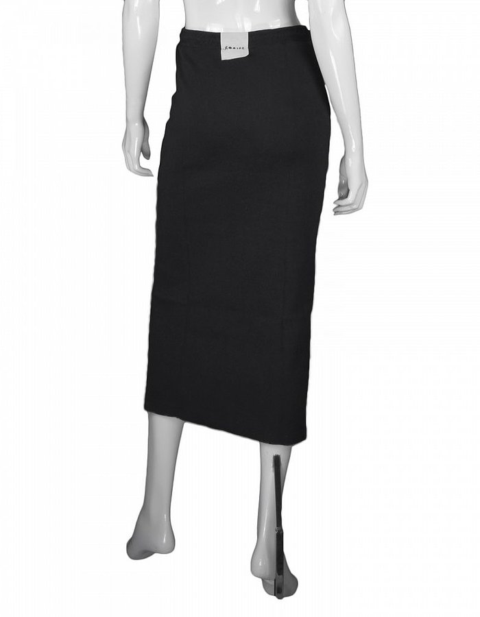 LOST AND FOUND ROOMS COTTON PANELED SKIRT