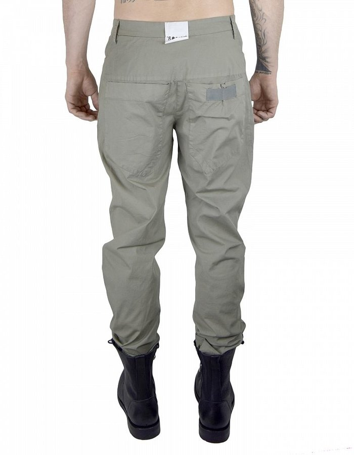 LOST AND FOUND ROOMS COTTON STRETCH 5 POCKET PANT : SAGE