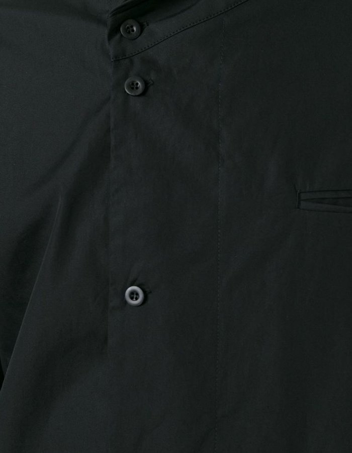 LOST AND FOUND HIGH COLLAR SHIRT