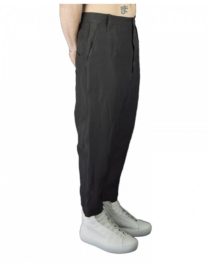 LOST AND FOUND SILK CROPPED PANT