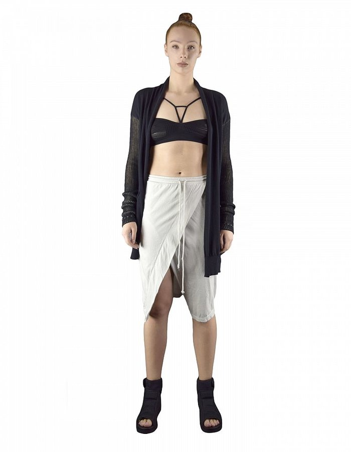 LOST AND FOUND ROOMS SKIRT PANTS :ICE