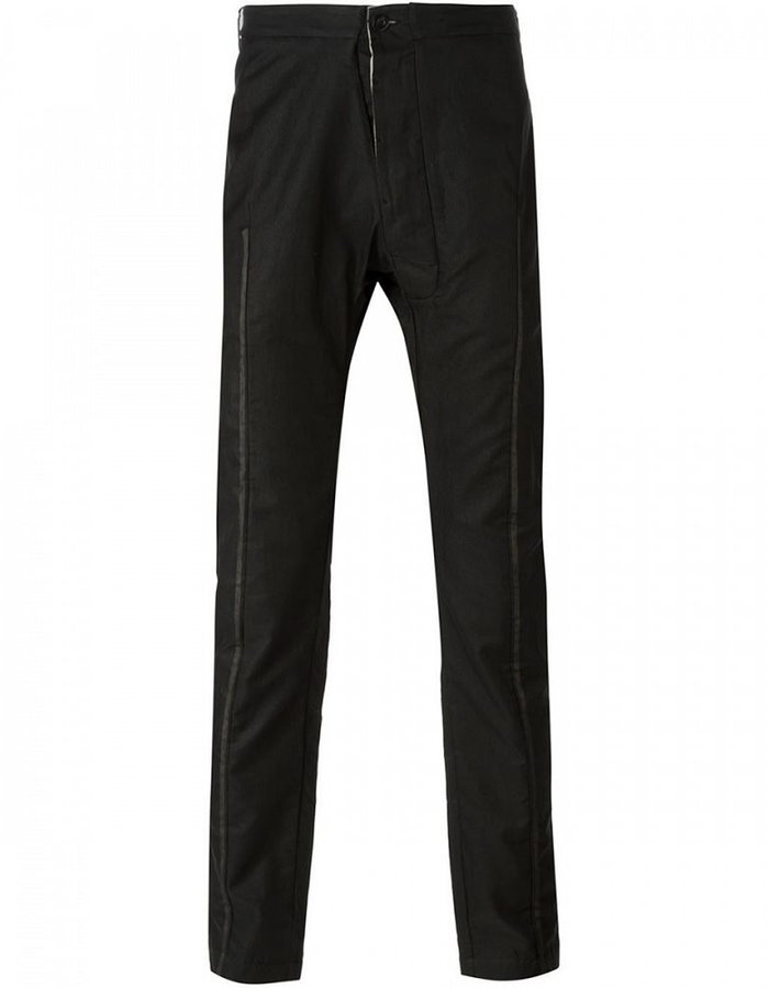 LOST AND FOUND TAPERED SILK PANT