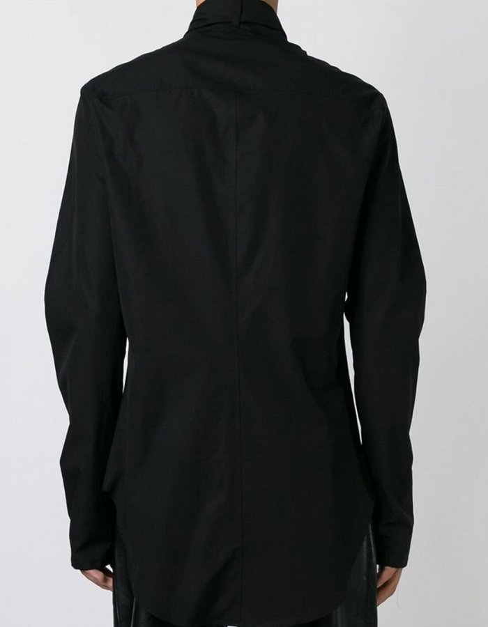 LOST AND FOUND THIN SCARF SHIRT
