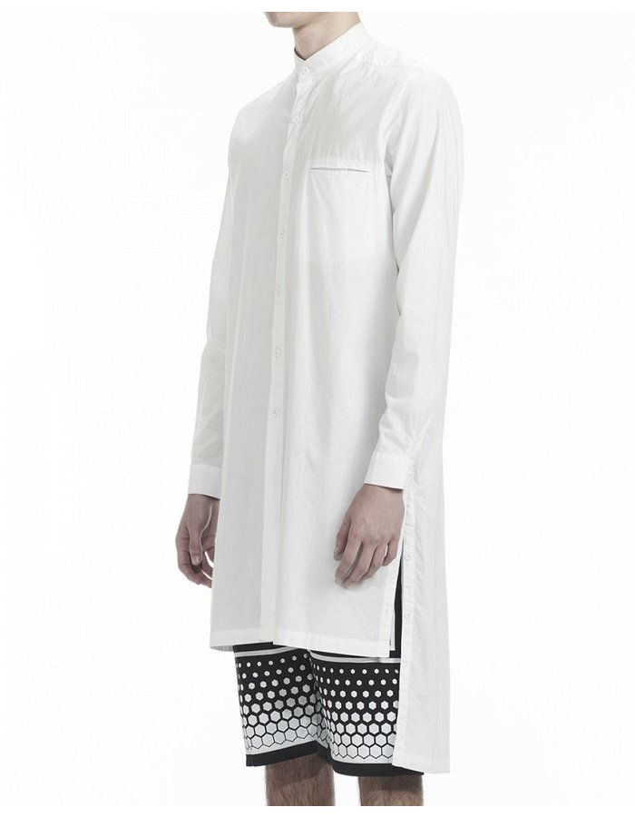 SKINGRAFT BUTTON UP KAFTAN SHIRT