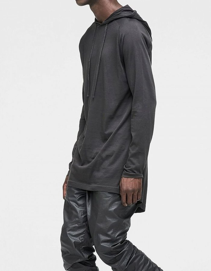 SKINGRAFT HOODED LONG SLEEVE TEE