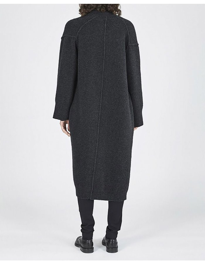 ISABEL BENENATO DOUBLE BREASTED LONG YAK COAT