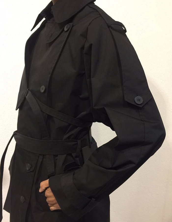 ISABEL BENENATO WATERPROOF LONG TRENCH