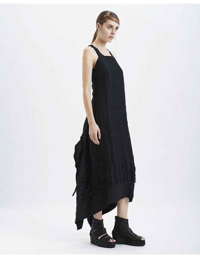 MASNADA DECAY PANEL PINAFORE DRESS