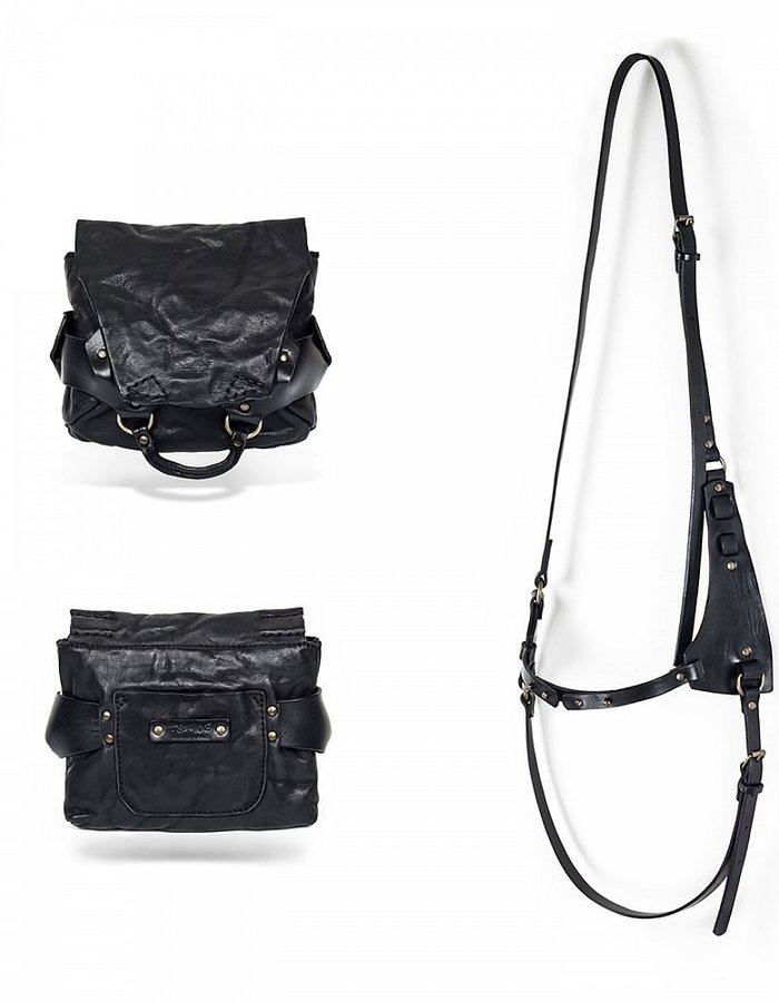 TEO + NG AKITO LEATHER BAG