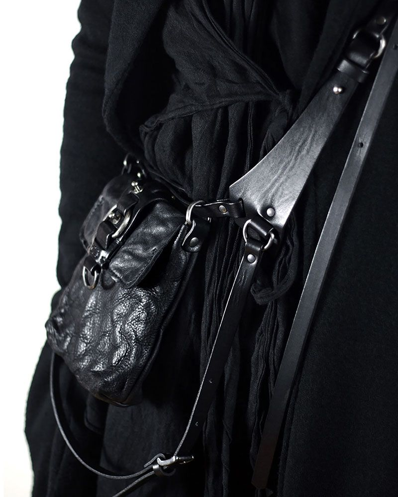 ARISTO LEATHER HARNESS POUCH