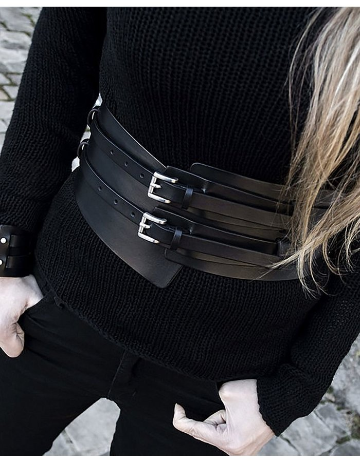 TEO + NG SMITO LEATHER BELT