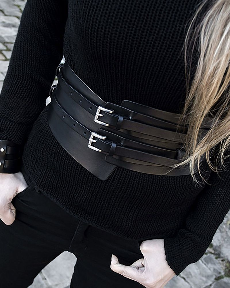 SMITO LEATHER BELT