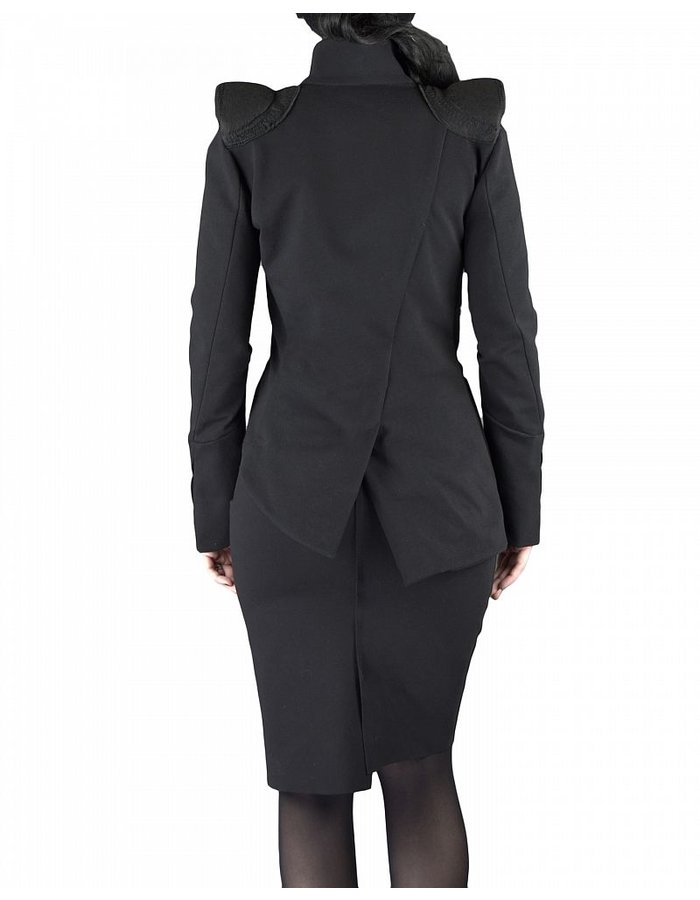 NOSTRA SANTISSIMA PADDED SHOULDER JACKET