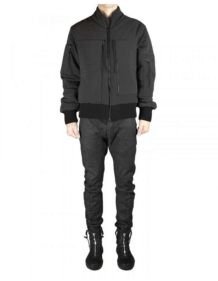 THOM KROM COATED BOMBER JACKET
