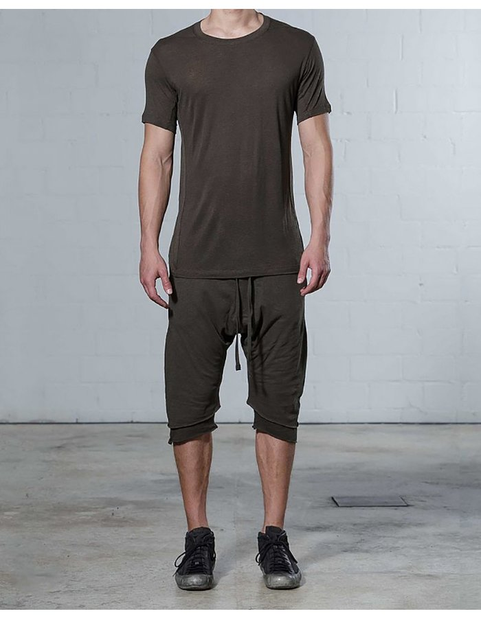THOM KROM CREW T VISCOSE AND LINEN
