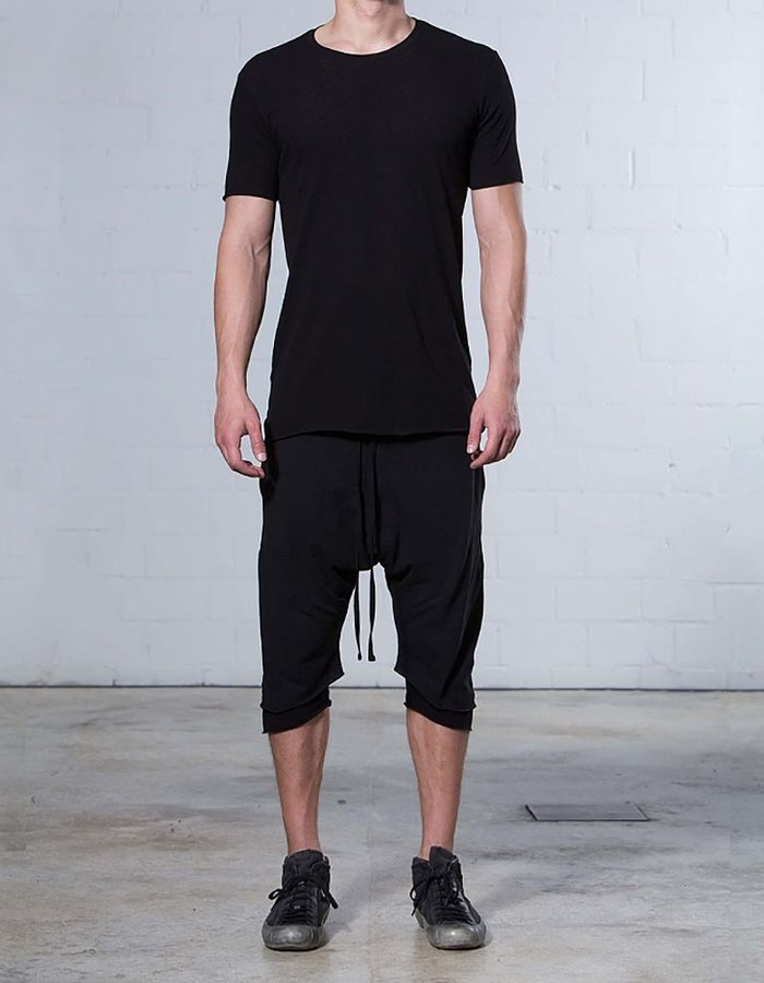THOM KROM CREW WITH BACK STRIPE