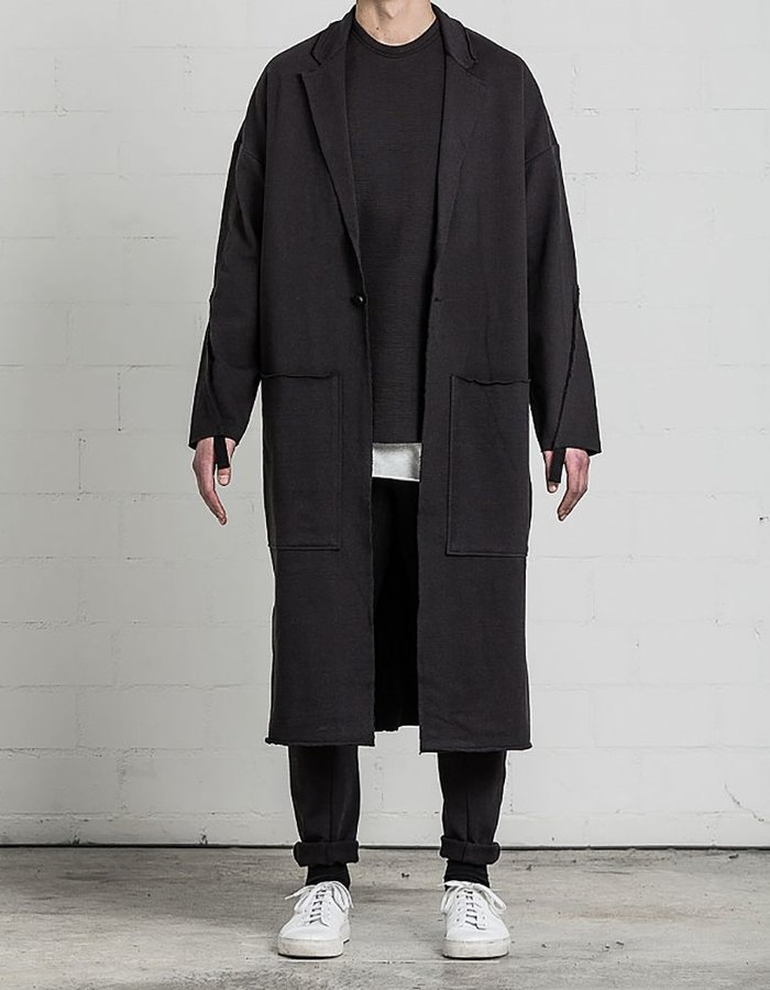THOM KROM LONG COAT BLAZER WITH SEAM