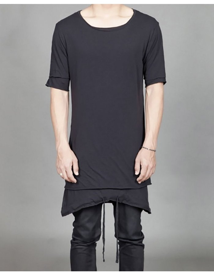 THOM KROM SHORT SLEEVE TEE W STRINGS