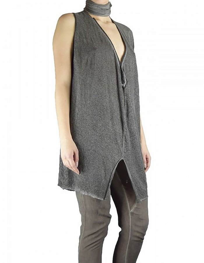 LOST AND FOUND HOOK AND EYE TUNIC