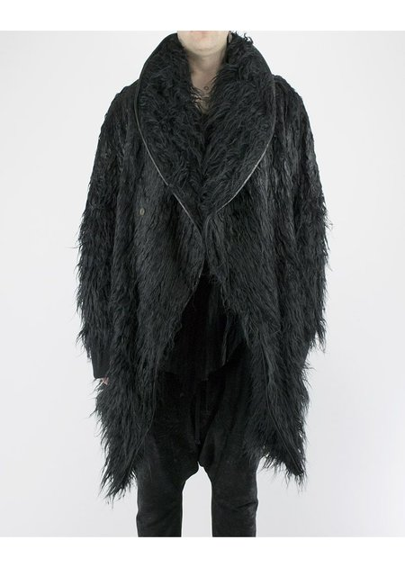 SANDRINE PHILIPPE YETI COAT SHORT