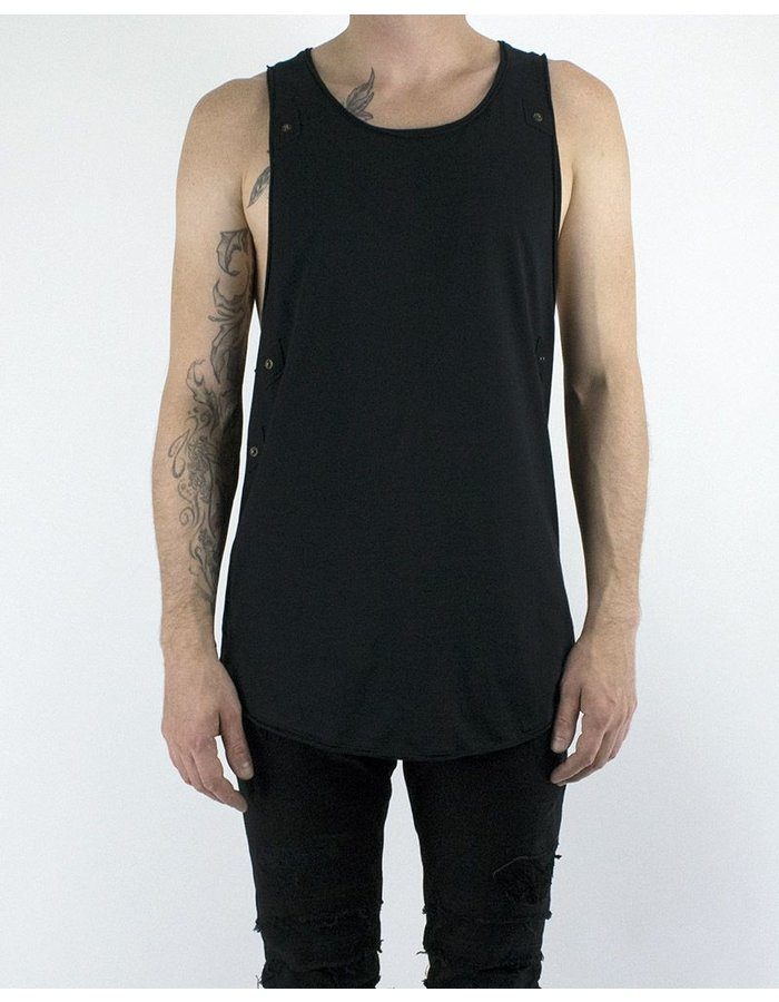 AVANT DARC TANK W/ LEATHER VEST (SMOOTH)