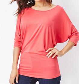 Emmas Closet Slit Sleeve Tunic